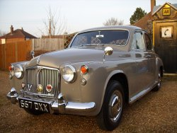 ROVER P4 100 1962  Family owned from new  inc (Doctor)