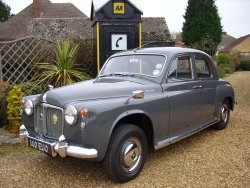 Rover P4 100 Six Cylinder Show Condition!  now sold (MORE WANTED) 1960