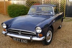 Sunbeam Alpine Mk V  1725cc  1967  With   Overdrive
