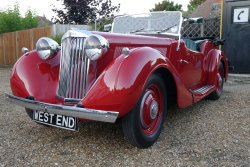 SUNBEAM  TALBOT 4 SEATER  SPORTS OPEN  TOURER 1948