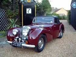 Triumph Roadster 1800  now sold MORE WANTED) 1947
