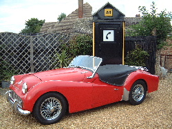 Triumph TR3A R.H.D. With Chrome wire wheels now sold  More  WANTED 1960