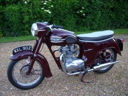 TRIUMPH SPEED TWIN 1959