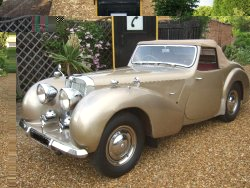 TRIUMPH ROADSTER 2000 1948 now sold Wanted all Triumph Roadsters