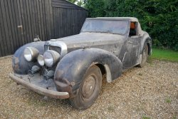TRIUMPH ROADSTER 1800  1948   Lovely  Restoration Project