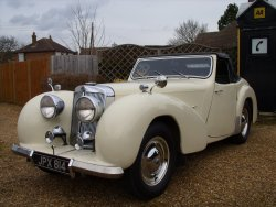 TRIUMPH ROADSTER  1800  1948   For  Sale