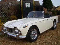 Triumph TR4A 1966  With Overdrive