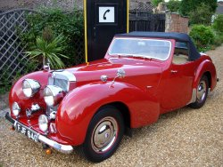 TRIUMPH ROADSTER 2000 1949 (With Rare Overdrive) SOLD