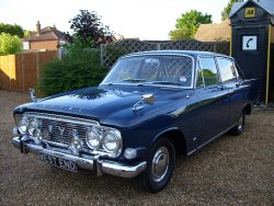 Ford ZODIAC MK3 1964  4 Speed Column change